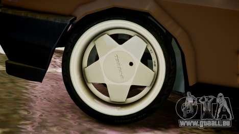 Tofas Kartal pour GTA 4 Vue arrière de la gauche