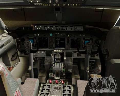 Boeing 737-8B6 Royal Air Maroc (RAM) für GTA San Andreas Innen