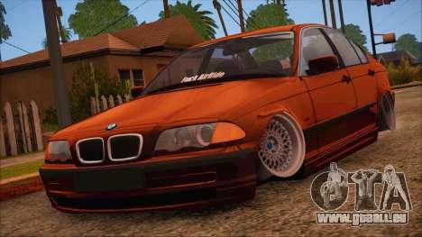 BMW M3 E46 Sedan pour GTA San Andreas