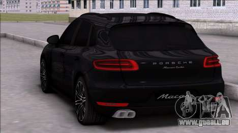 Porsche Macan Turbo pour GTA San Andreas laissé vue