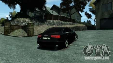 Audi A6 2012 pour GTA 4 est une gauche