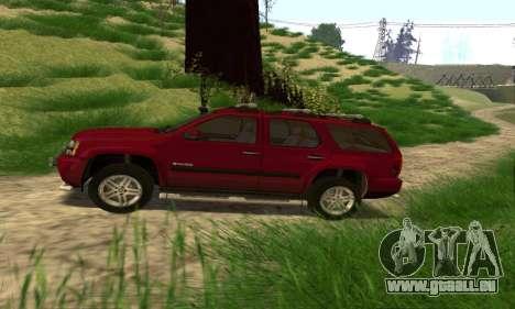 Chevrolet Tahoe Final pour GTA San Andreas laissé vue