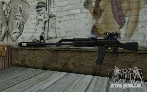 Glock-17 Silenced für GTA San Andreas