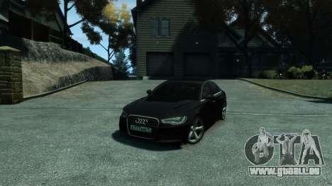 Audi A6 2012 für GTA 4 Seitenansicht