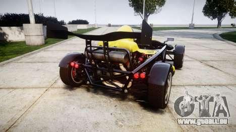 Ariel Atom V8 2010 [RIV] v1.1 Hauminator pour GTA 4 Vue arrière de la gauche