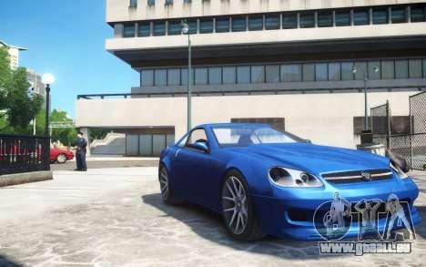 Benefactor Feltzer Grey Series v3 für GTA 4