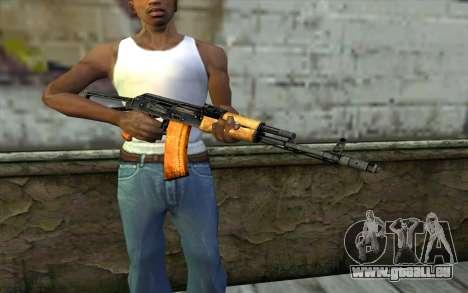 AKC74 mit Butt für GTA San Andreas dritten Screenshot