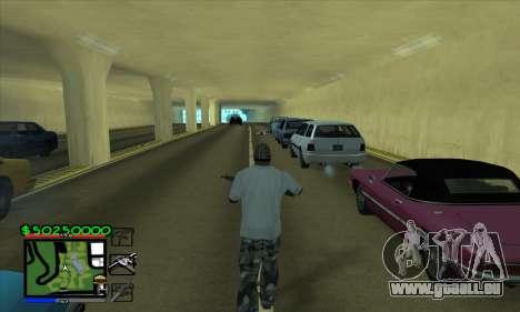 C-HUD by Niko für GTA San Andreas zweiten Screenshot