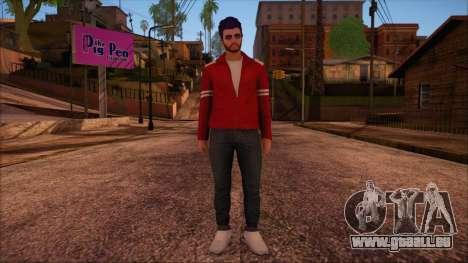 GTA 5 Online Skin 13 pour GTA San Andreas