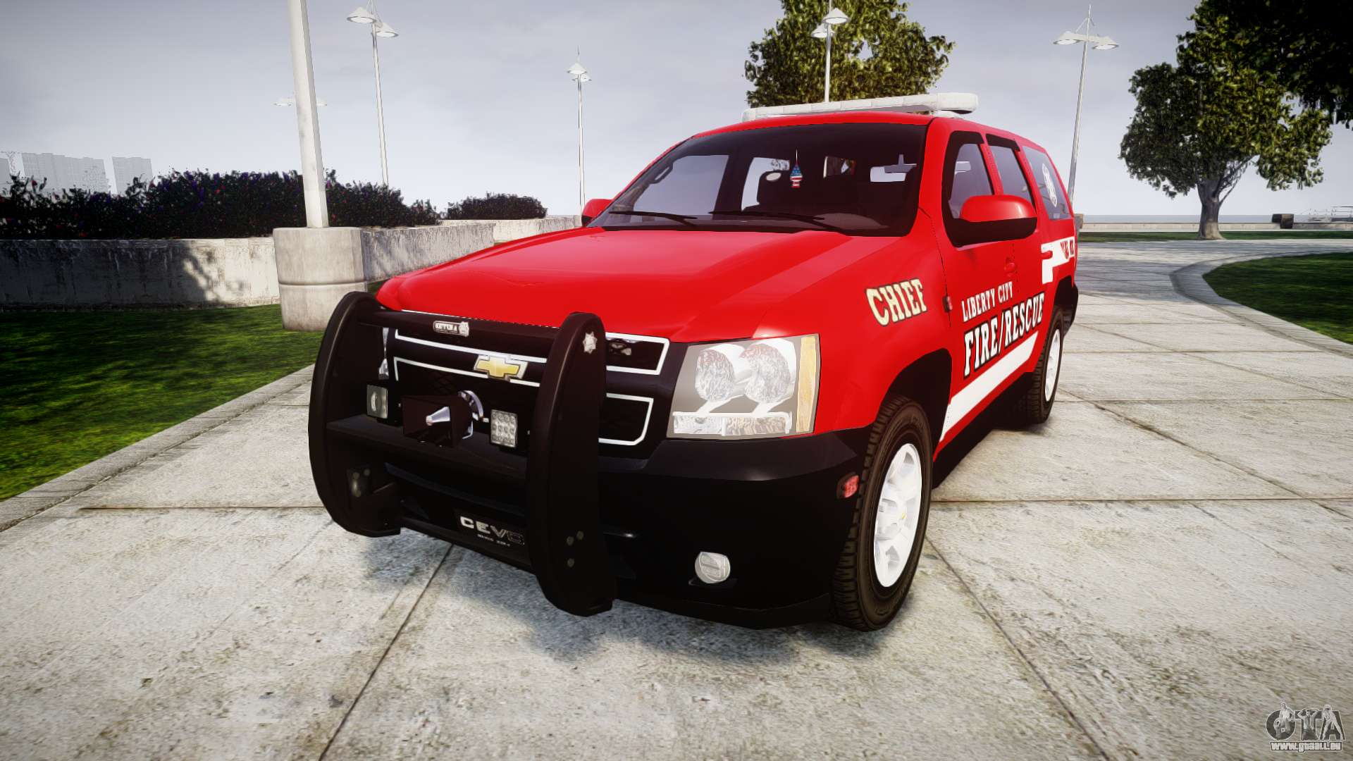 Chevrolet Tahoe Fire Chief Els Pour Gta 4