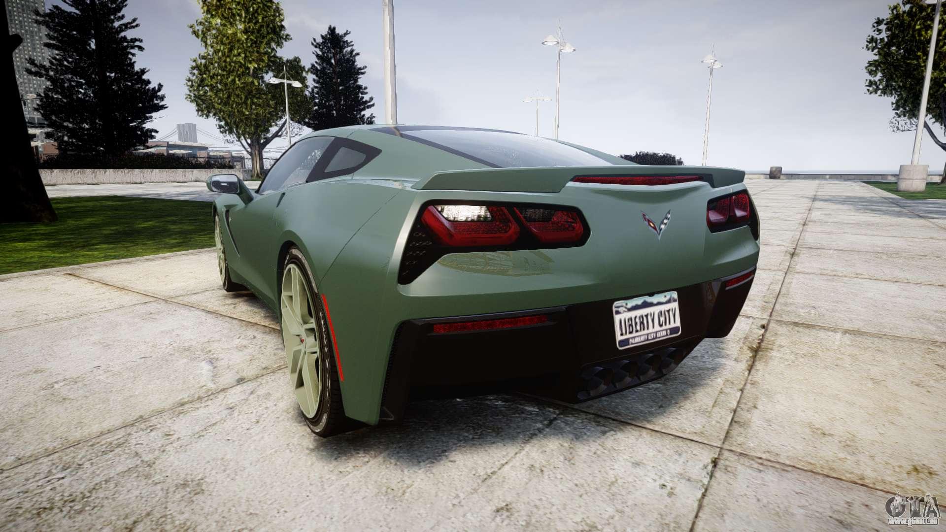 Chevrolet Corvette C7 Stingray 2014 V2 0 Tirepi2 Pour Gta 4