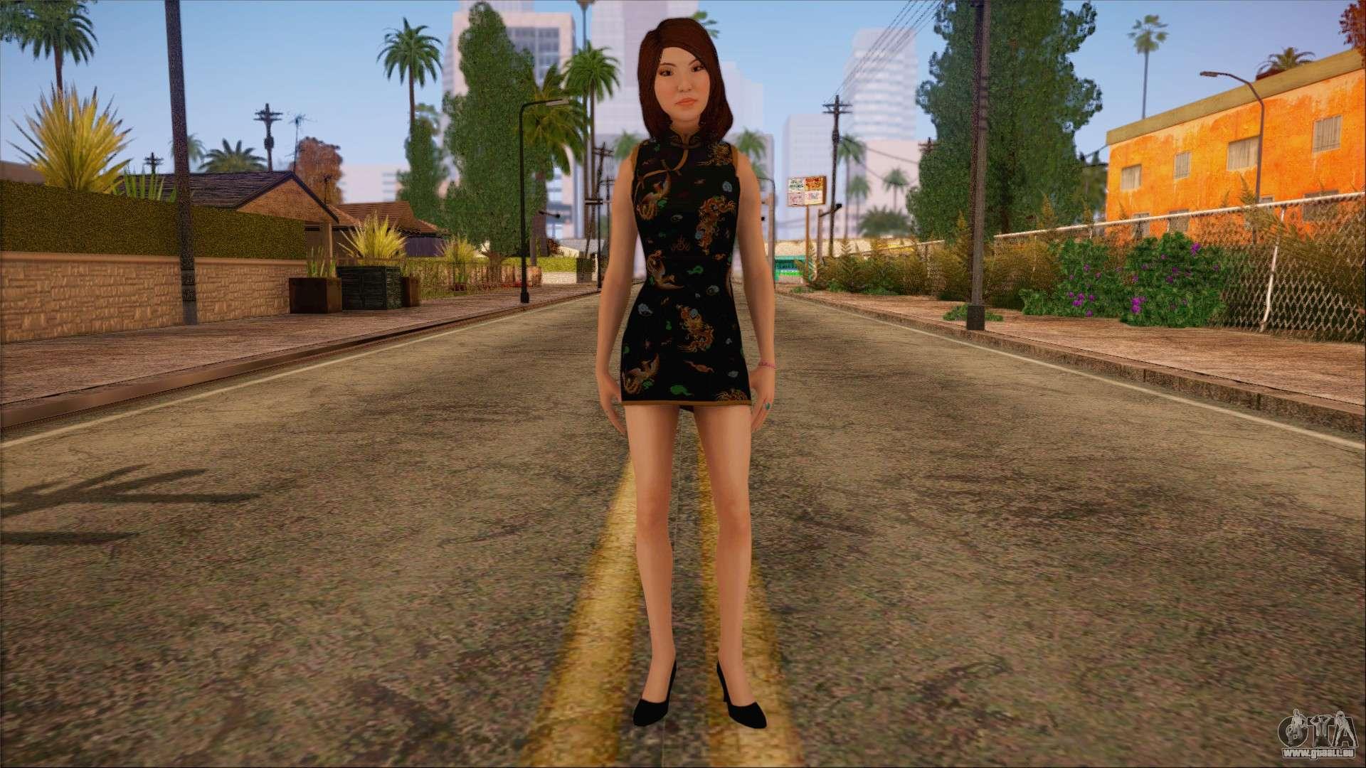 Modern Woman Skin 9 für GTA San Andreas