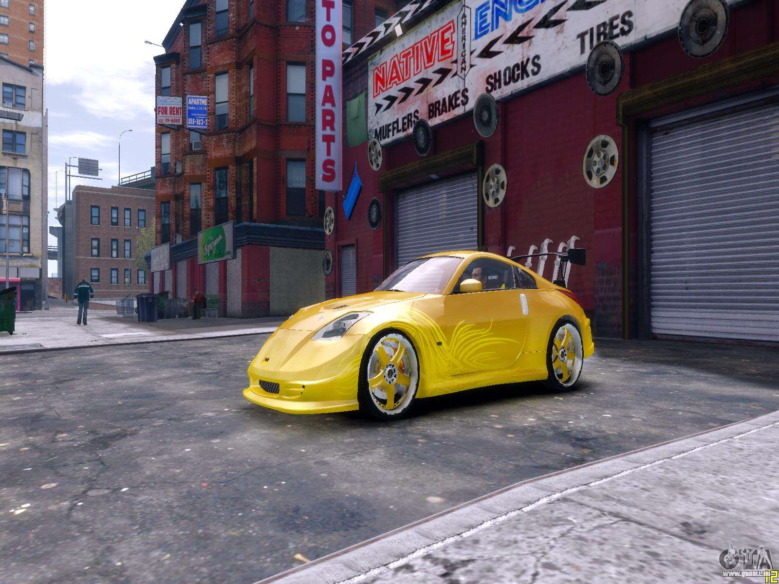 nissan 350z fast and furious tokyo drift pour gta 4. Black Bedroom Furniture Sets. Home Design Ideas