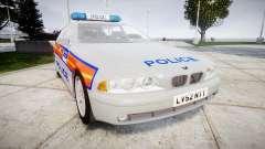 BMW 525i E39 Touring Police [ELS] JSTV für GTA 4