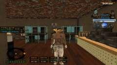 Hervorragende C-HUD für GTA San Andreas