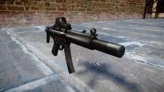 Pistolet MP5SD EOTHS CS b cible