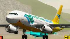 Airbus A319-100 Cebu Pacific Air pour GTA San Andreas