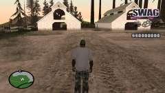 C-HUD Raum SWAG für GTA San Andreas