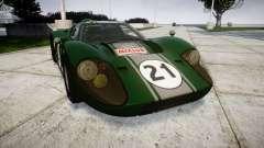 Ford GT40 Mark IV 1967 PJ Mixlub 21