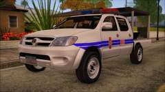 Toyota HiLux Philippine Police Car 2010 pour GTA San Andreas