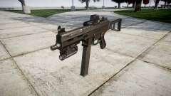 Allemand pistolet mitrailleur HK UMP 45 cible