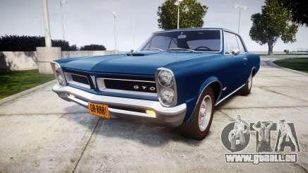 Pontiac GTO 1965 pour GTA 4