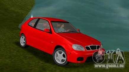 Daewoo Lanos Sport NOUS 2001 pour GTA Vice City