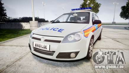 Vauxhall Astra 2010 Metropolitan Police [ELS] für GTA 4