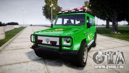 GTA V Benefactor Dubsta [ELS] Sheriff für GTA 4
