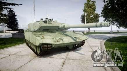 Leopard 2A7 DE Green pour GTA 4