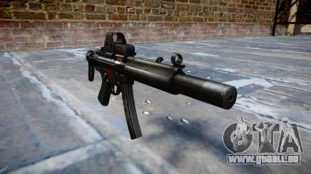Gun MP5SD EOTHS CS b Ziel für GTA 4