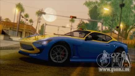 GTA 5 Lampadati Furore GT (IVF) für GTA San Andreas