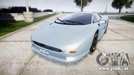 Jaguar XJ220 1992 [EPM] pour GTA 4