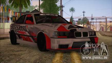 BMW E36 Coupe Bridgestone pour GTA San Andreas