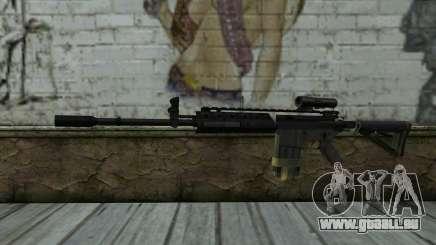 M4A1 from COD Modern Warfare 3 pour GTA San Andreas