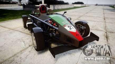 Ariel Atom V8 2010 [RIV] v1.1 Truran Air pour GTA 4