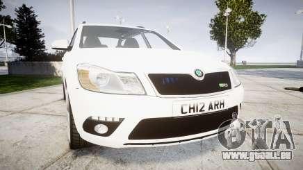 Skoda Octavia vRS Combi Unmarked Police [ELS] für GTA 4
