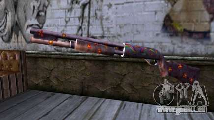 Chromegun v2 Farbe färben für GTA San Andreas