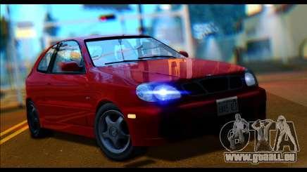 Daewoo Lanos Sport US 2001 für GTA San Andreas