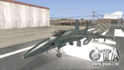 FA-18 Hornet Malaysia Air Force pour GTA San Andreas