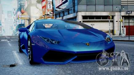 Lamborghini Huracan LP610-4 from Horizon 2 für GTA 4