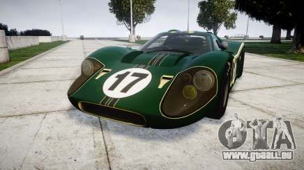 Ford GT40 Mark IV 1967 PJ 17 für GTA 4