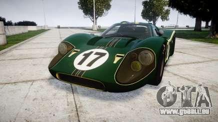 Ford GT40 Mark IV 1967 PJ 17 pour GTA 4