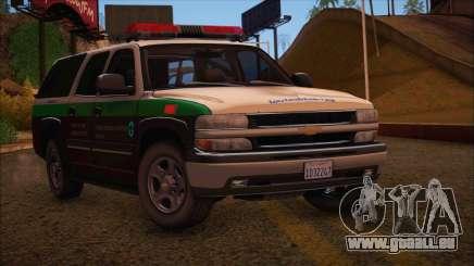 Tierra Robada Armed Forces Border Patrol für GTA San Andreas