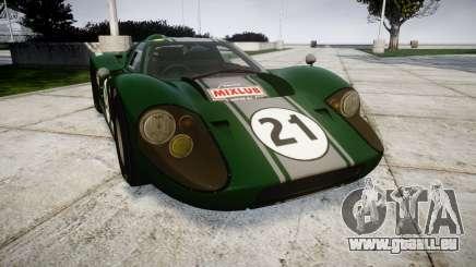 Ford GT40 Mark IV 1967 PJ Mixlub 21 pour GTA 4