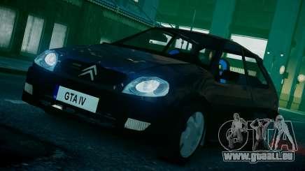 Citroen Saxo pour GTA 4