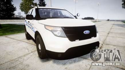 Ford Explorer 2013 [ELS] Liberty County Sheriff für GTA 4