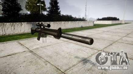 American fusil de sniper SR-25 pour GTA 4