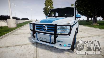 Mercedes-Benz G55 AMG Grand Edition Hamann pour GTA 4