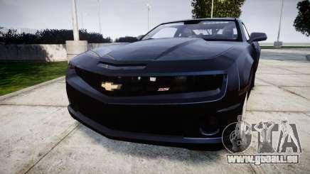 Chevrolet Camaro SS [ELS] Unmarked interceptors pour GTA 4